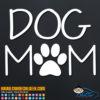 Dog Mom Decal Sticker