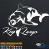 Key Largo Dolphin Decal Sticker