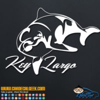 Key Largo Dolphin Decal Sticker