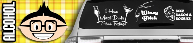 Alcohol Decals & Stickers