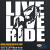 Live Love Ride Horses Decal Sticker