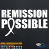 Remission Possbile Decal Sticker