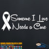 Someone I Love Needs a Cure Decal Sticker