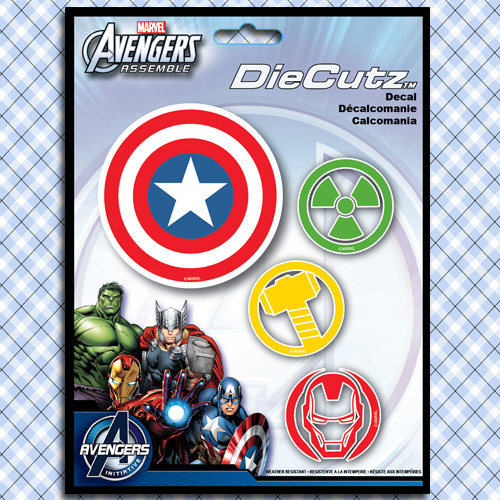 Marvel Avengers Assemble Logos Symbols Decals Stickers