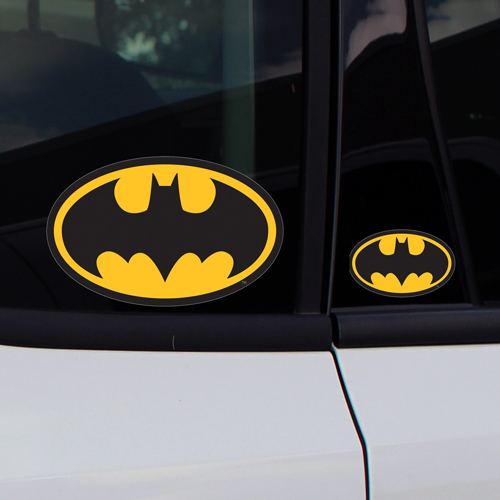 Batman Symbol Car Window Decals Stickers