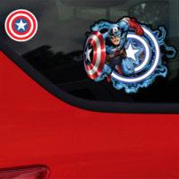 Marvel Captain America Car WIndow Decal Sticker