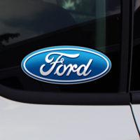 Ford Oval Logo CaR Truck Window Decal Sticker