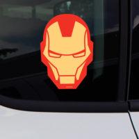 Avengers Iron Man Face Car Window Decal Sticker
