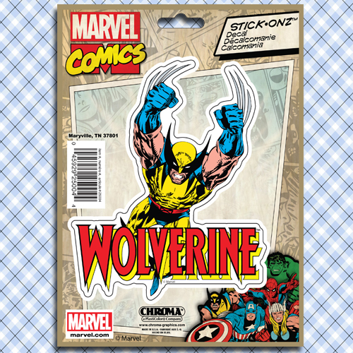 Marvel Wolverine Decal Sticker