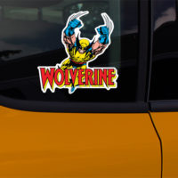 Marvel Wolverine Car Window Decal Sticker