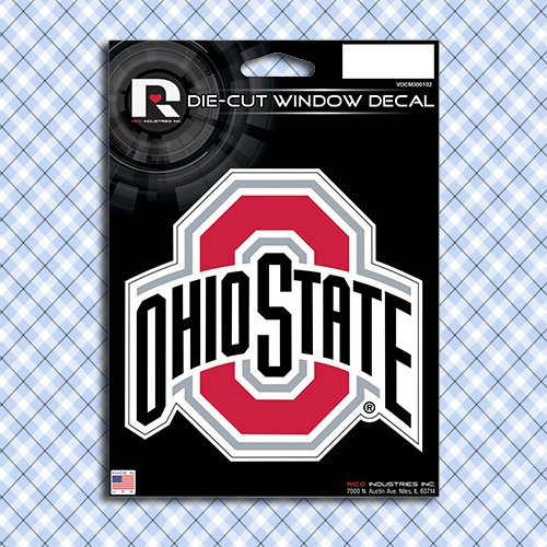 Ohio State Buckeyes Car Window Decal Sticker