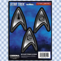 Star Trek Starfleet Academy Decals Stickers