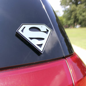 Superman S Car Window Emblem