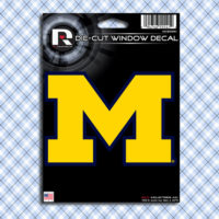 University of Michigan Wolverines UofM Car Window Decal Sticker