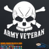 Army Veteran Decal Sticker