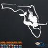 Florida Mermaid Decal Sticker