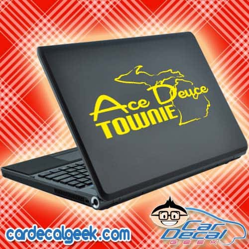 Ace Deuce Townie Laptop Decal Sticker