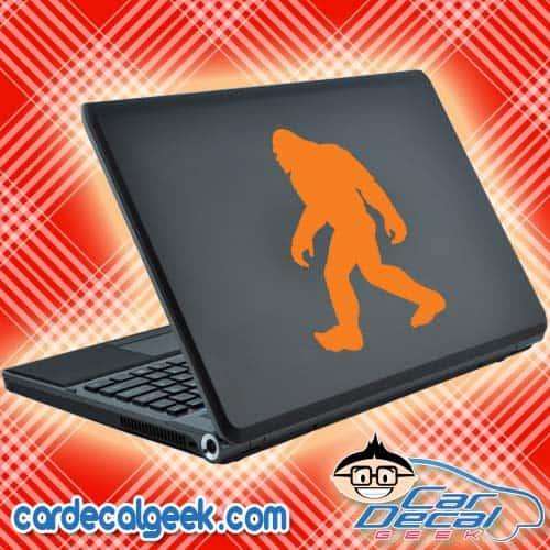 Walking Bigfoot Sasquatch Laptop Decal Sticker
