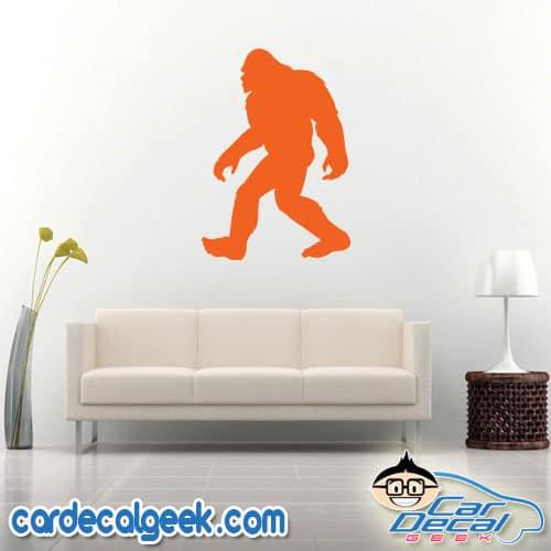 Walking Bigfoot Sasquatch Decal Sticker