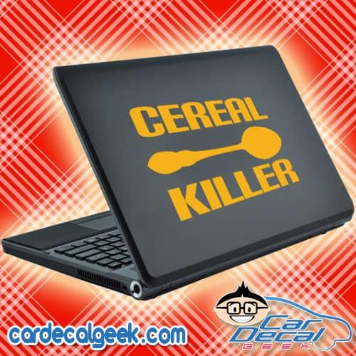 Cereal Killer Laptop Decal Sticker