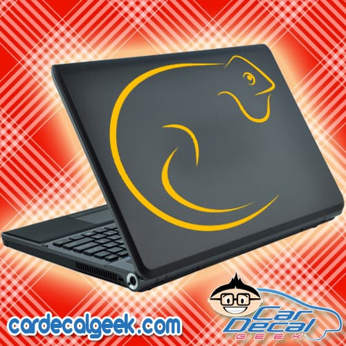 Chameleon Lizard Reptile Laptop Decal Sticker