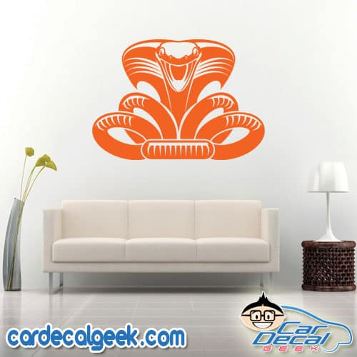 Cobra Snake Wall Decal Sticker