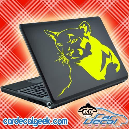 Cougar Mountain Lion Panther Laptop Decal Sticker