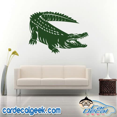 Alligator / Crocodile Wall Decal Sticker