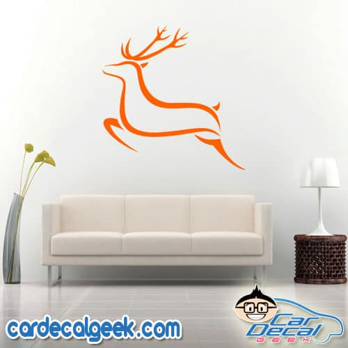 Setting Sun Wall Decal Sticker