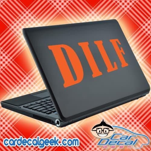DILF Laptop Decal Sticker
