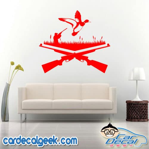 Duck Hunting Wall Decal Sticker