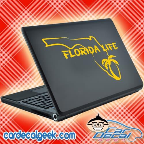 Florida Life Laptop Decal Sticker