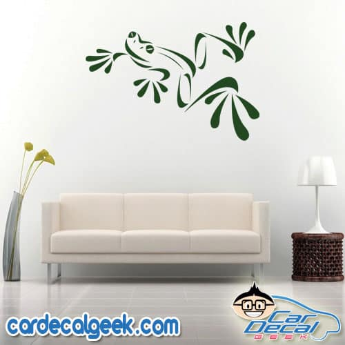Tree Frog Amphibian Wall Decal Sticker