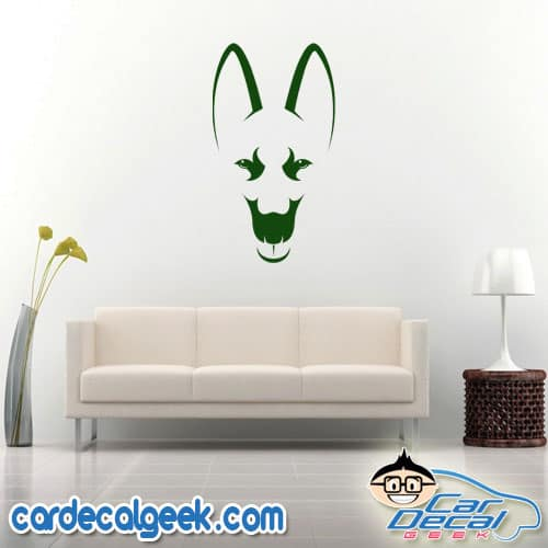 German Shepherd Wall Decal Sticker