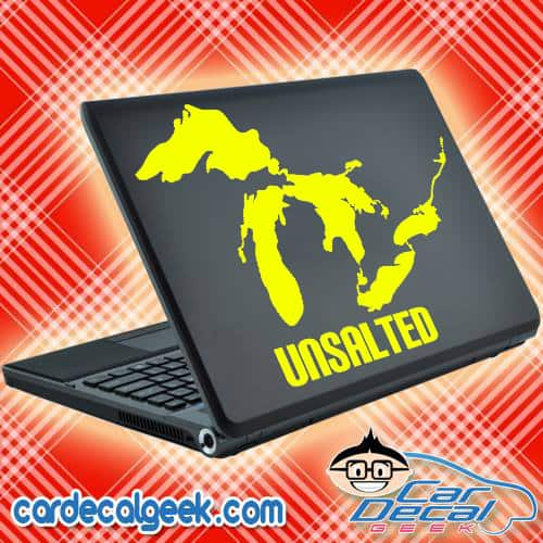 Great Lakes Unsalted Unsalted Decal Sticker