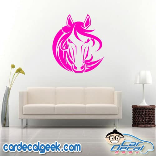 Beautiful Horse Wall Decal Sticker