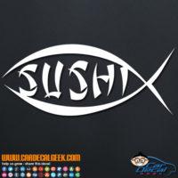 Sushi Fish Decal Sticker