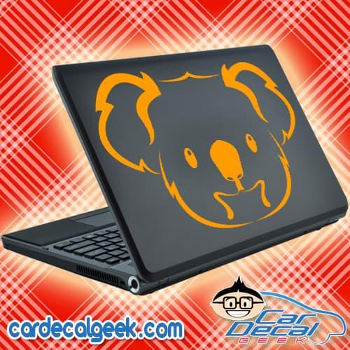 Koala Bear Laptop Decal Sticker