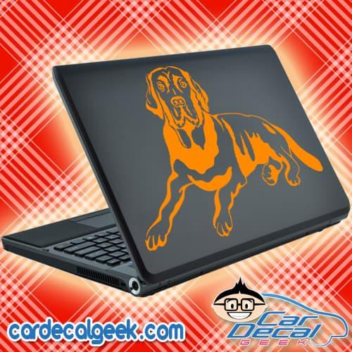 Awesome Labrador Dog Laptop Decal Sticker