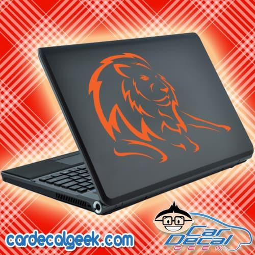 Amazing Lion Laptop Decal Sticker