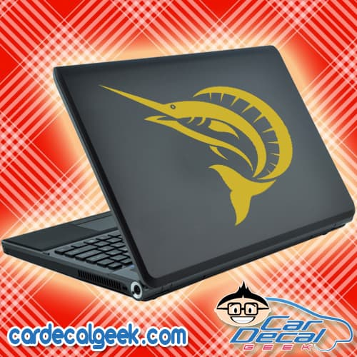 Sailfish Laptop Decal Sticker