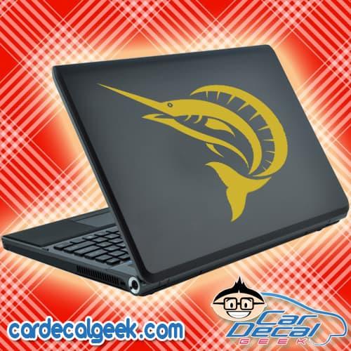 Sailfish Laptop Decal Sticker