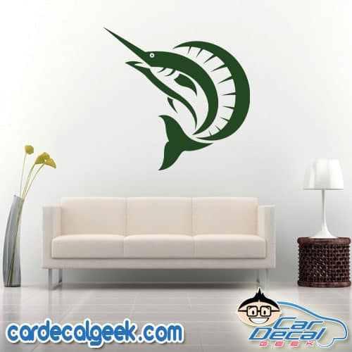 Sailfish Wall Decal Sticker
