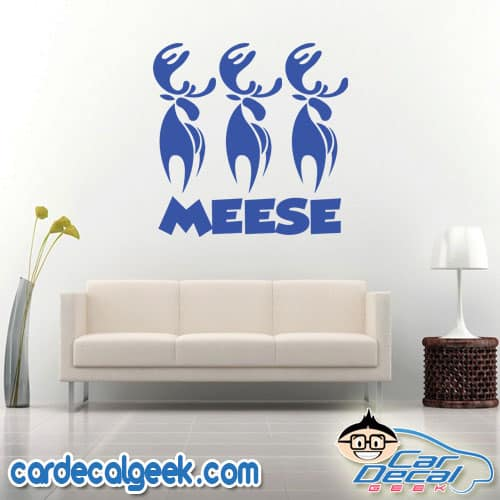Meese Wall Decal Sticker