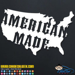 American Made United States Decal Sticker