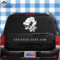 Alien Skull Car Window Decal Sticker