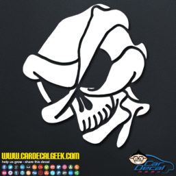 Alien Skull Decal Sticker