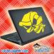 Alien Skull Laptop MacBook Decal Sticker