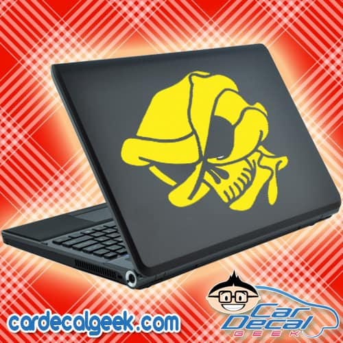 Alien Skull Laptop MacBook Decal Sticker