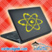 Atom Science Laptop MacBook Decal Sticker